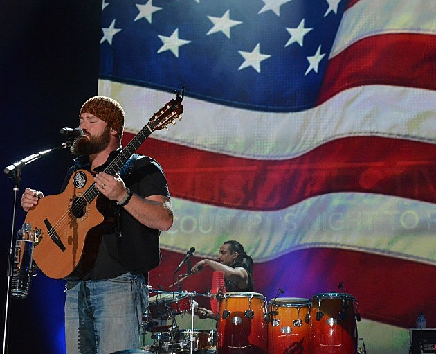 Zac Brown Band performs during the 2012 CMA Music Festival