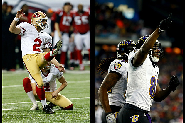 Super Bowl 47 - San Francisco 49ers versus Baltimore Ravens