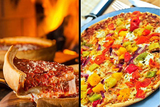 Chicago Style Pizza vs St Louis Style Pizza