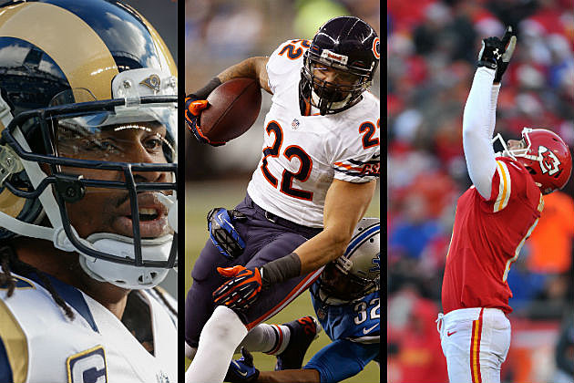 St. Louis Rams, Chicago Bears and Kansas City Chiefs