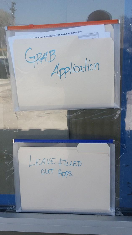 Jimmy Johns Application
