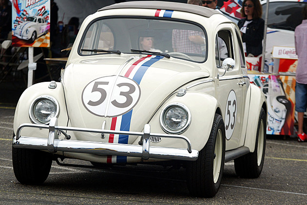 Herbie The Love Bug Appears At The VW Classic