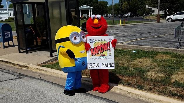 Minion & Elmo Kapow