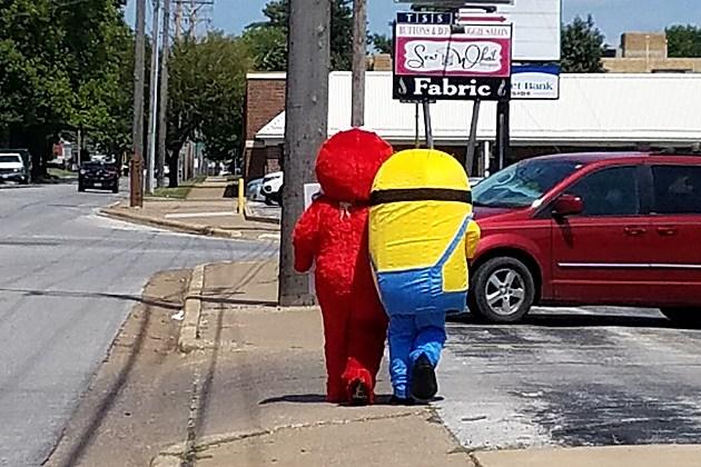 Minion & Elmo