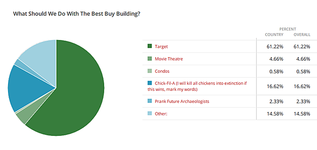 Best Buy Poll Results