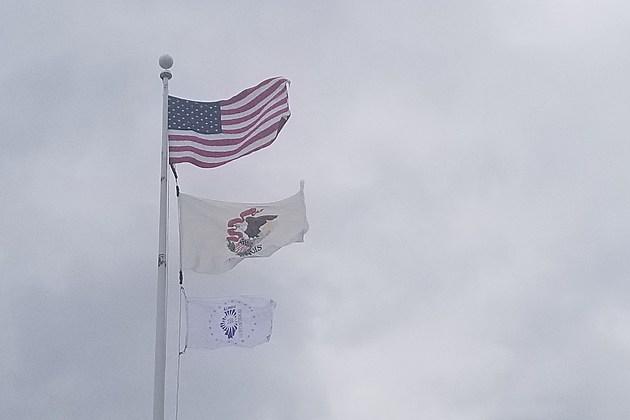 Illinois Bicentennial Flag